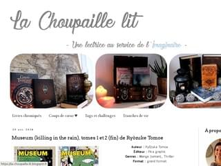 La Choupaille lit